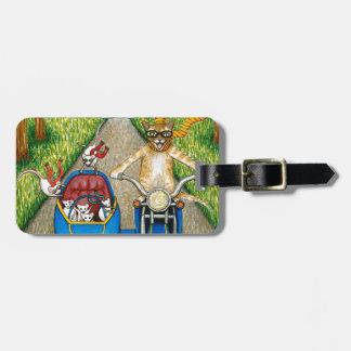 Cat 384 luggage tag