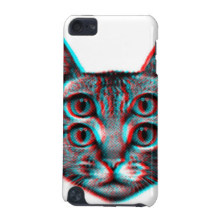 Cat 3d,3d cat,black and white cat iPod touch 5G cover