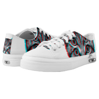 Cat 3d,3d cat,black and white cat low tops