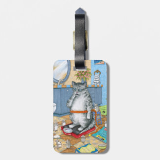 Cat 579 luggage tag