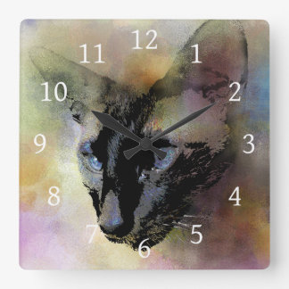 Cat 620 square wall clock