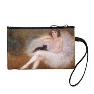 Cat And Ballerina Purse Coin Purses