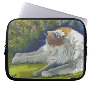 cat and bug computer sleeves