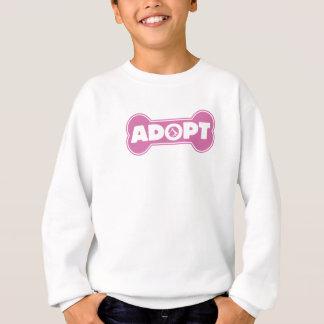 cat and dog adoption adopt bone t shirts