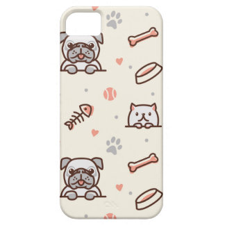 Cat and Dog Lover Case For The iPhone 5