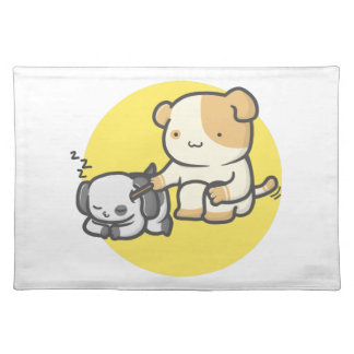 Cat and Dog Placemat