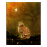 Cat And Fairy Posters