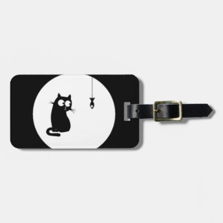 Cat and Fish (Cat and Fish) Luggage Tag