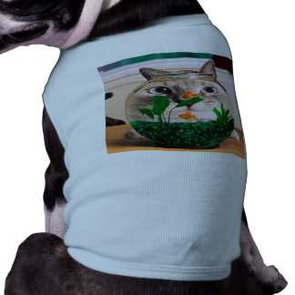 Cat and fish - cat - funny cats - crazy cat shirt