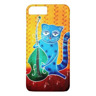 Cat and jazz iPhone 8 plus/7 plus case