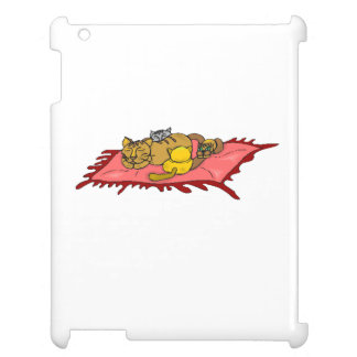Cat And Kittens iPad Cases