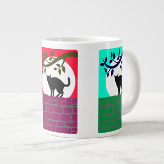 Cat and Moon Specialty Mug