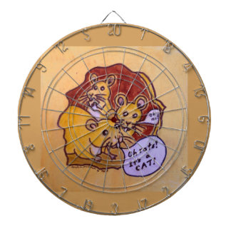 Cat and Mouse Dart Board