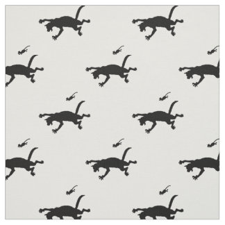 Cat and Mouse Fabric