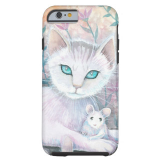 Cat and Mouse Fantasy Art by Molly Harrison Tough iPhone 6 Case