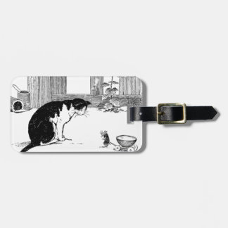 Cat and Mouse - Luggage Tag