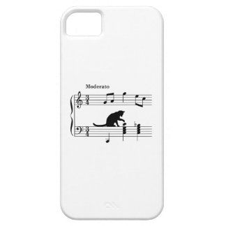 cat_and_note_ver2 iPhone 5 cover