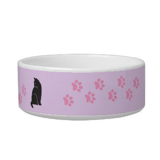 CAT AND PAWS CAT BOWL