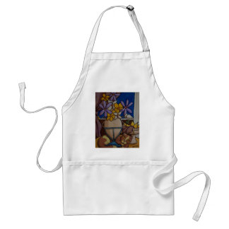 Cat and Pears Aprons