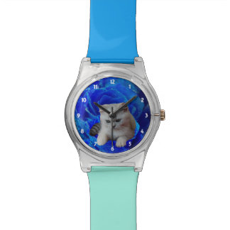 Cat and Rose Wristwatches