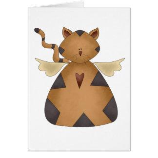 Cat Angel Card