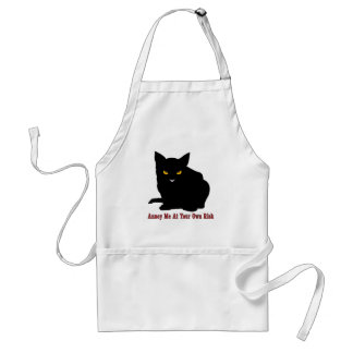 Cat: Annoy Me At Your Own Risk Standard Apron