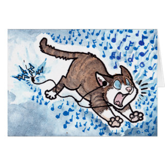Cat Apology Card