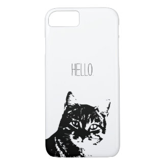 Cat Apple iPhone 8/7, Barely There Phone Case