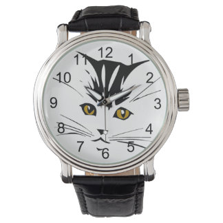 Cat Art Design Watch