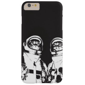 cat astronaut - black and white cat - cat memes barely there iPhone 6 plus case