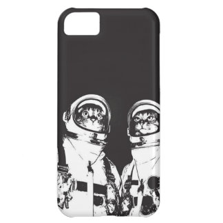 cat astronaut - black and white cat - cat memes iPhone 5C case