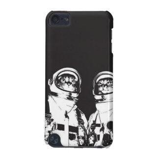 cat astronaut - black and white cat - cat memes iPod touch (5th generation) covers