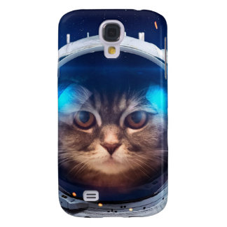 Cat astronaut - cats in space  - cat space galaxy s4 cases