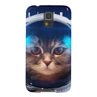 Cat astronaut - cats in space  - cat space galaxy s5 cases