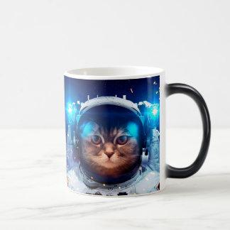 Cat astronaut - cats in space  - cat space magic mug