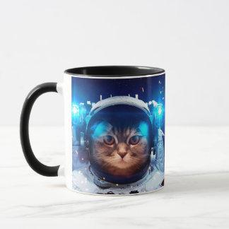 Cat astronaut - cats in space  - cat space mug