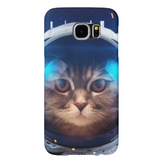 Cat astronaut - cats in space  - cat space samsung galaxy s6 cases