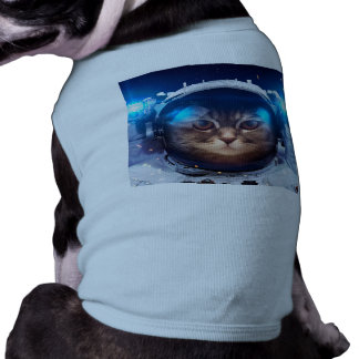 Cat astronaut - cats in space  - cat space shirt