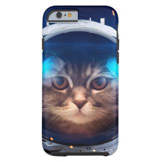 Cat astronaut - cats in space  - cat space tough iPhone 6 case