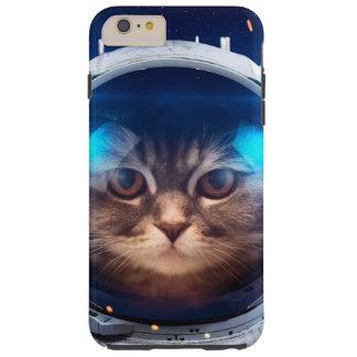 Cat astronaut - cats in space  - cat space tough iPhone 6 plus case