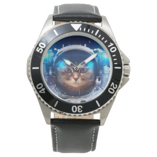 Cat astronaut - cats in space  - cat space watch