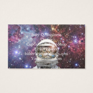 Cat astronaut - crazy cat - cat business card