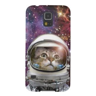 Cat astronaut - crazy cat - cat galaxy s5 covers
