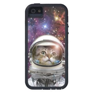 Cat astronaut - crazy cat - cat iPhone 5 case