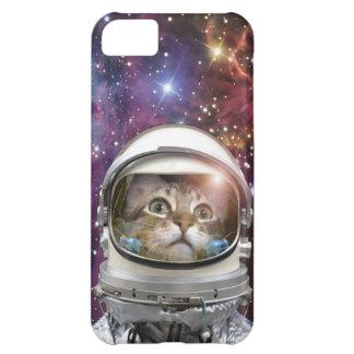 Cat astronaut - crazy cat - cat iPhone 5C case
