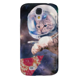 cat astronaut - funny cats - cats in space galaxy s4 cases