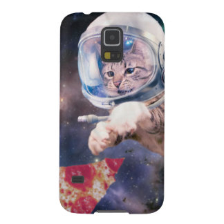 cat astronaut - funny cats - cats in space galaxy s5 case