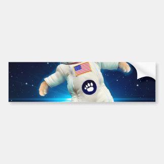 Cat astronaut - space cat - Cat lover Bumper Sticker