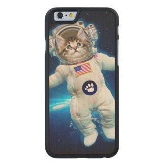 Cat astronaut - space cat - Cat lover Carved Maple iPhone 6 Case