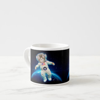 Cat astronaut - space cat - Cat lover Espresso Cup